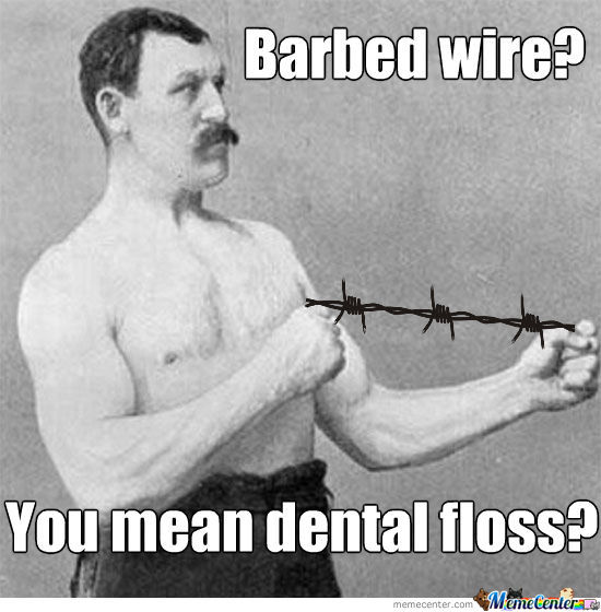 Manly Man Dental Hygiene