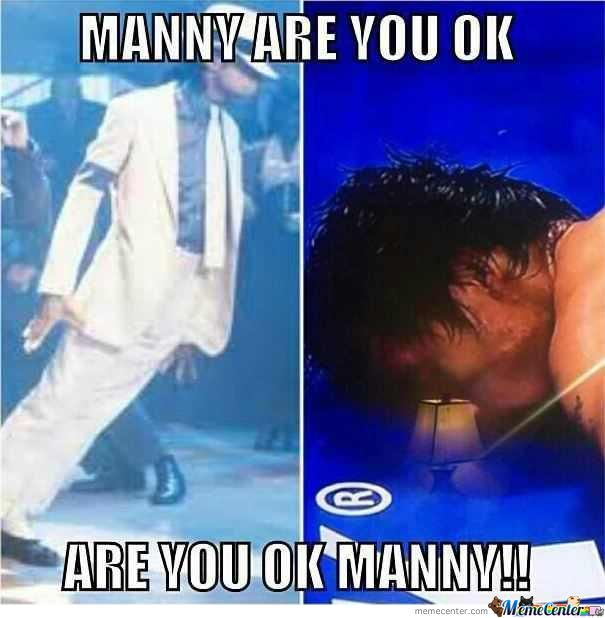 Manny Are You Ok-Michael Jackson