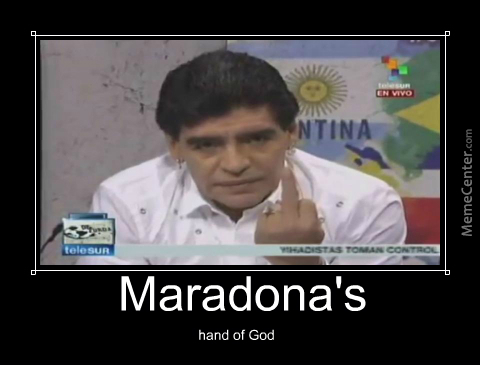 Maradona's Hand Of God