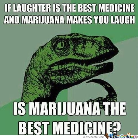 Marijuana Must Be The Best Medicine!