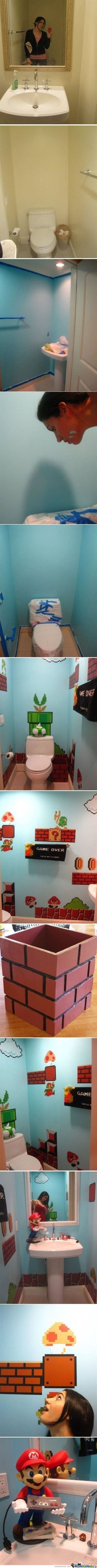 Mario Bathroom!