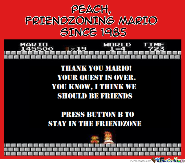 Mario The Friendzoned