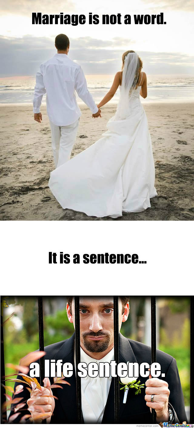 Marriage Is Not A Word