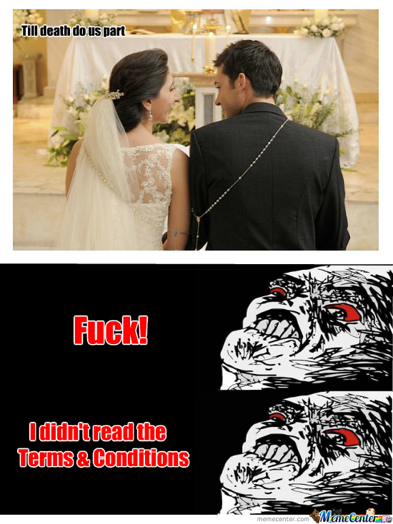 Marriage Terms & Conditions