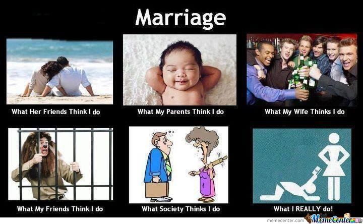 Funny Memes For Married Couples : Marriage by mak meme center
