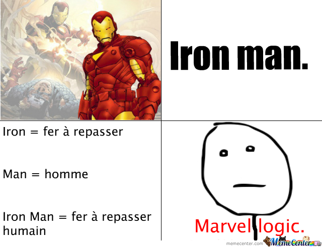 Marvel Logic.