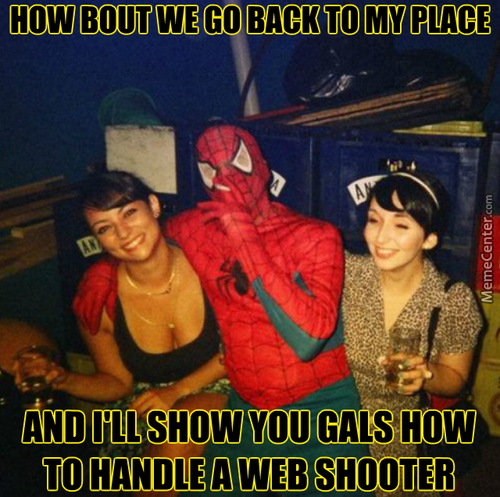 Mary Jane's Out Of Town And Lil Spidey Need Attention
