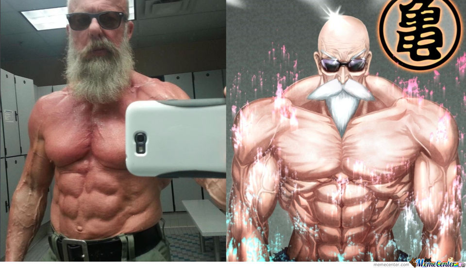 Master Roshi In Real Life