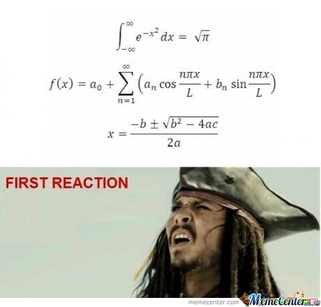 Math Reaction