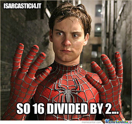 Math With Spiderman