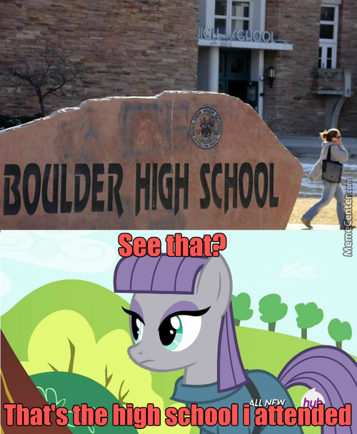 Maud Pie's High School