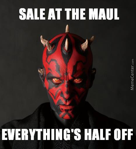 Maul, Get It? Nvm