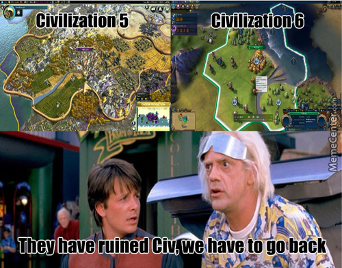 Maybe They've Going To Make Civ 6 Into A Mobile Game?
