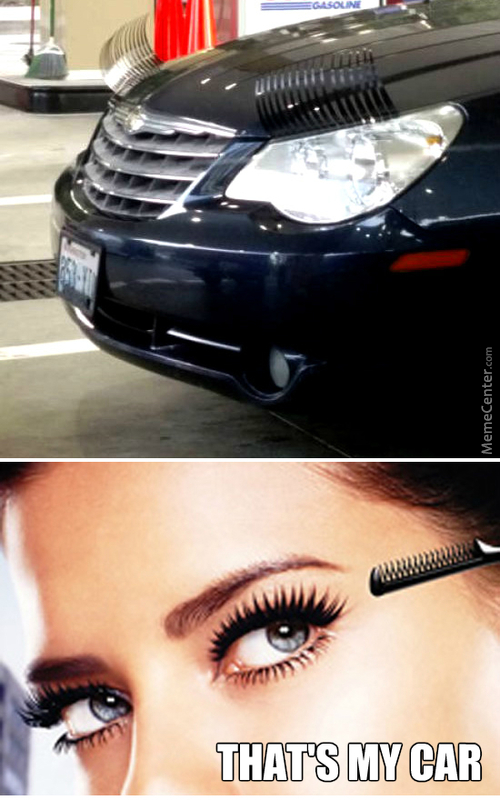 Maybelline Car