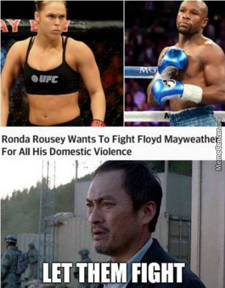 Mayweather Vs Feminist, That's What We Call A Win/win Situation