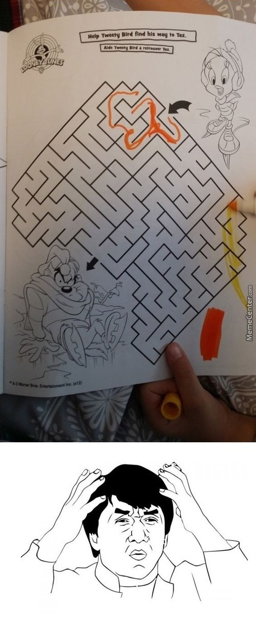 Mazes For Kids Are Much Harder Nowadays