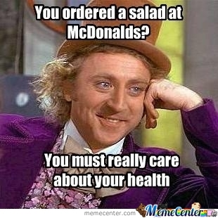 Mc Donalds Salad