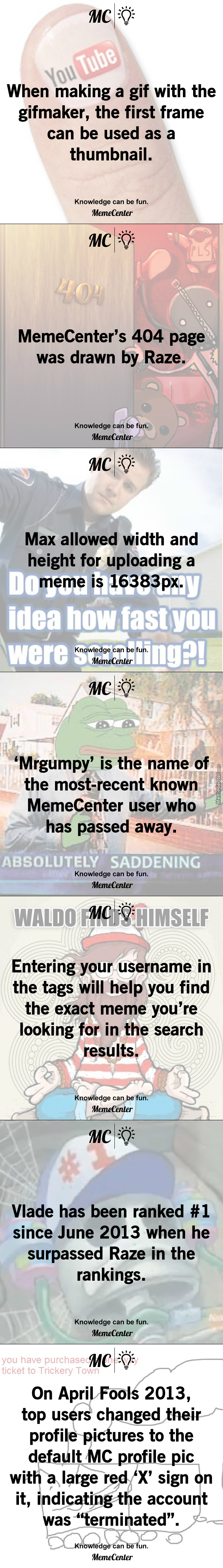 Mc Facts #10