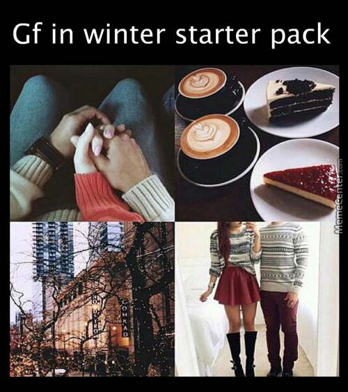 Mc Is My Winter Gf... And Spring, Summer, And Fall Gf