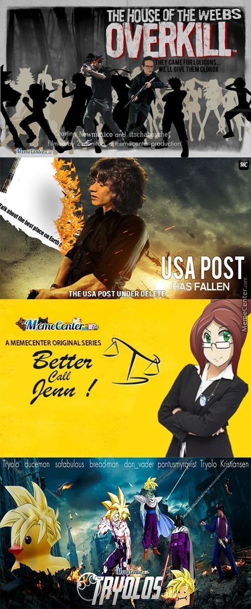 Mc Users In Movie Posters Part 1