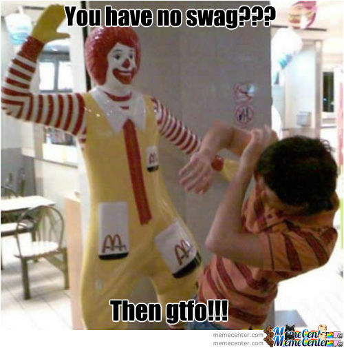 Mcdonalds Hiring Swagfags
