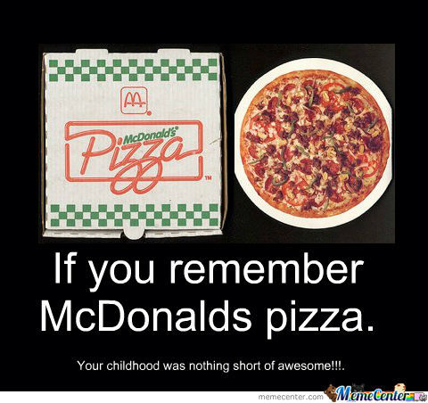 Mcdonalds Pizza