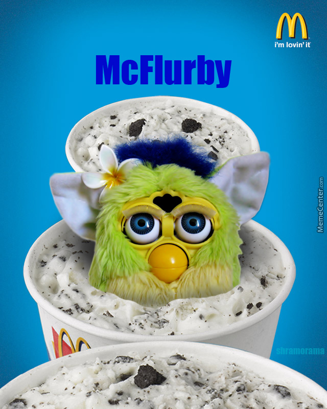 Mcflurby.... Not Lovin It