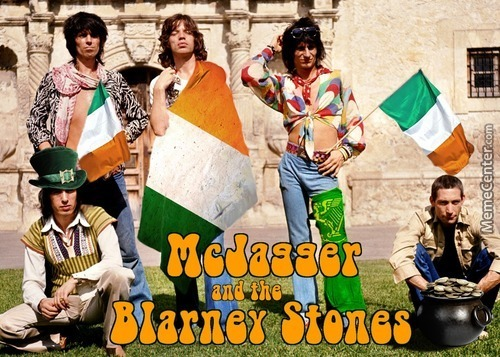 Mcjagger And The Blarney Stones