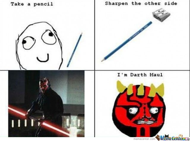 Me Darth Maulsta