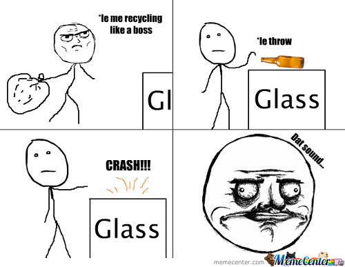 Me Gusta Glass Breaking Sound.