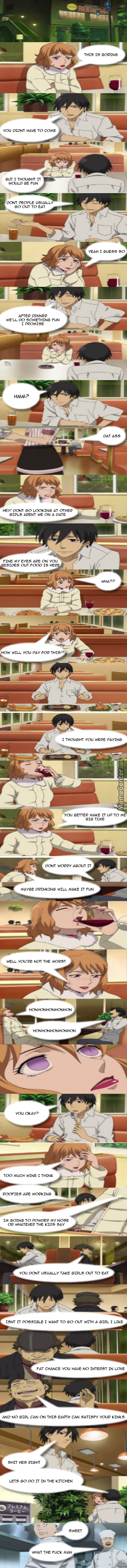 Me On A Date (Sorry Its Compressed At Full Size Would Be 9000 Pixels So This Is My Longest Post Cool Beans)