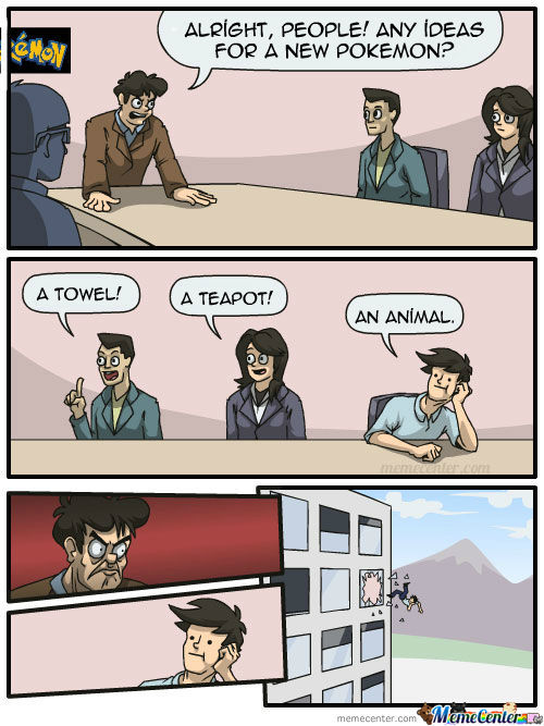 Meanwhile At A Certain Developer's Meeting