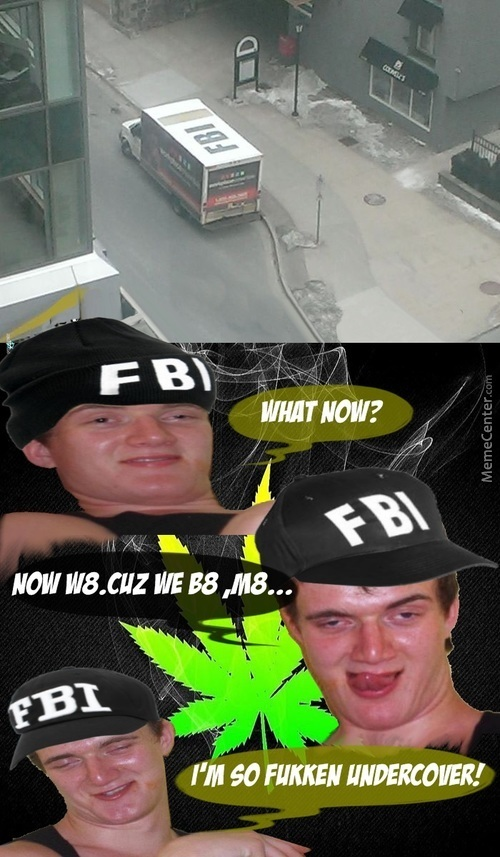 Meanwhile At F. B. I. ...