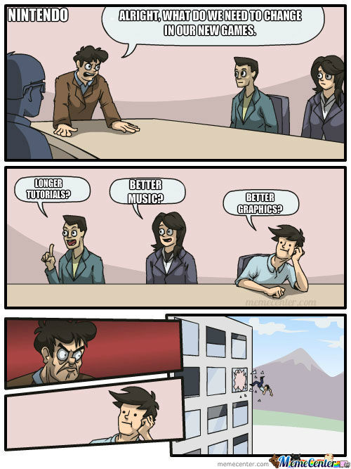 Meanwhile At Nintendo