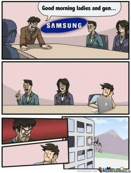 Meanwhile At Samsung Office