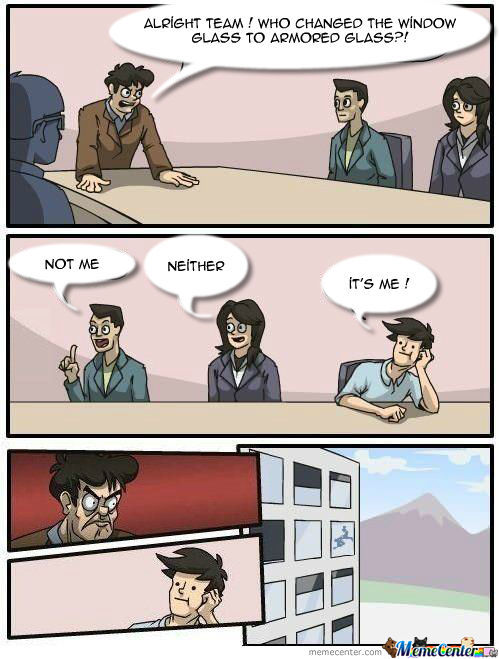Meanwhile At The Company