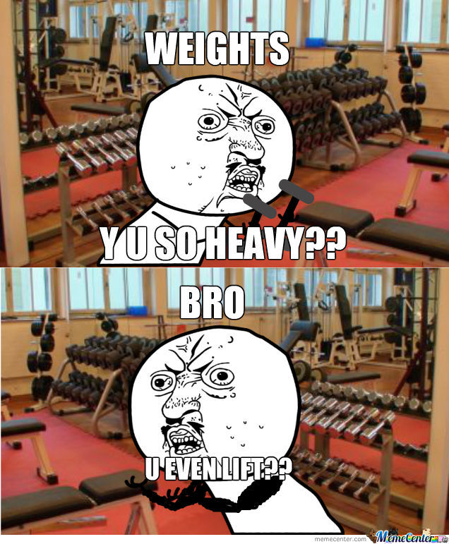 Meanwhile At The Gym