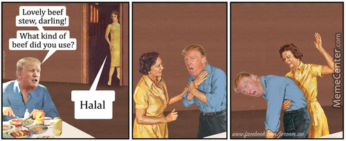 Meanwhile At Trump's House (Credit To Jeroom)