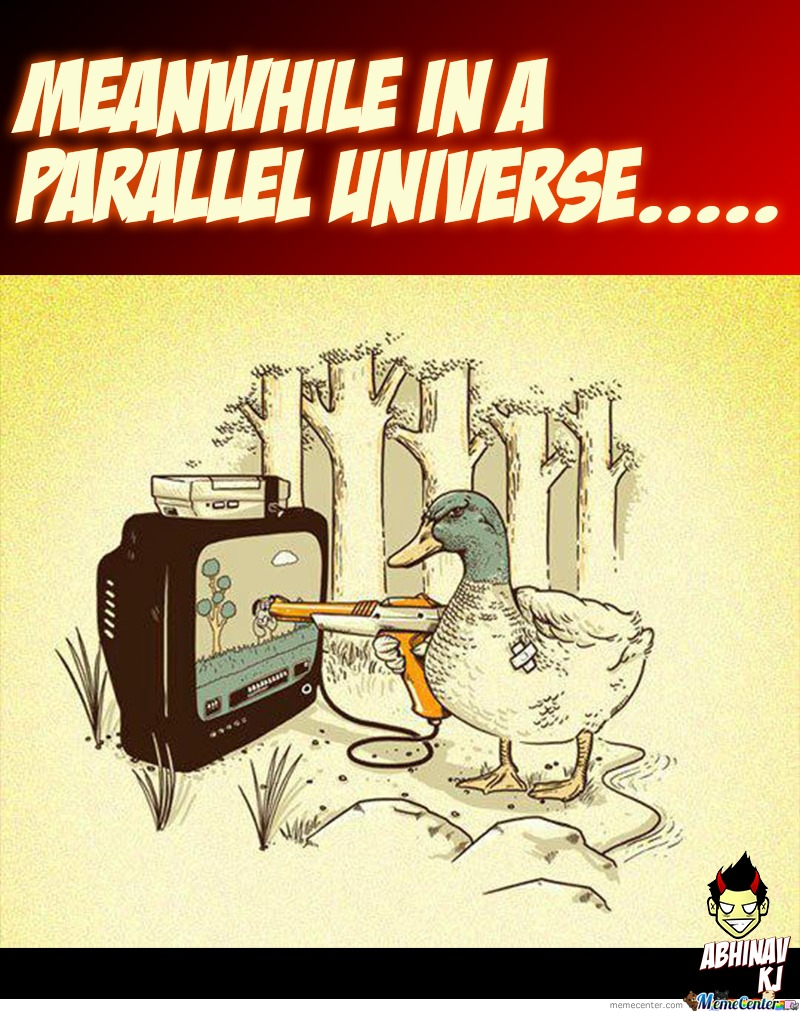 Meanwhile In A Parallel Universe