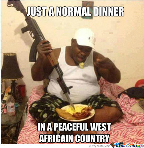 Meanwhile In Africa...