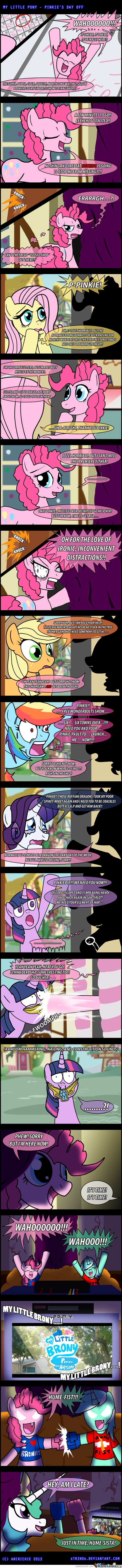 Meanwhile, In An Alternate Universe - By Anirichie
