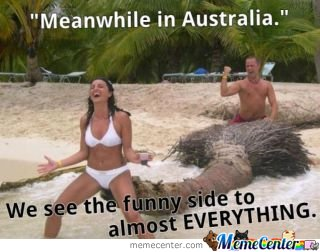Meanwhile In Australia......