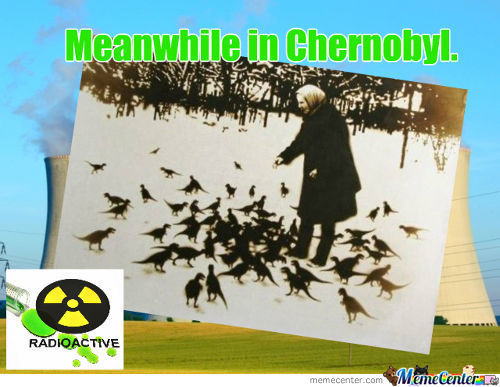 Meanwhile In Chernobyl.