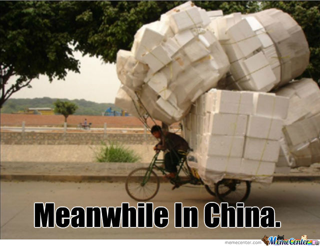 Meanwhile In China.