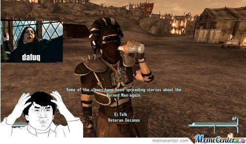 Meanwhile In Fallout....
