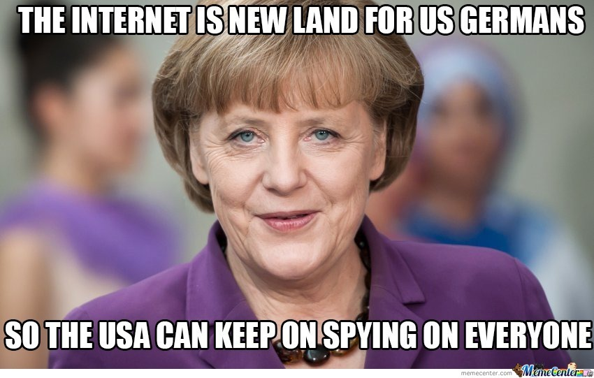 Meanwhile In Germany ... I Can't Believe She Really Said That ...