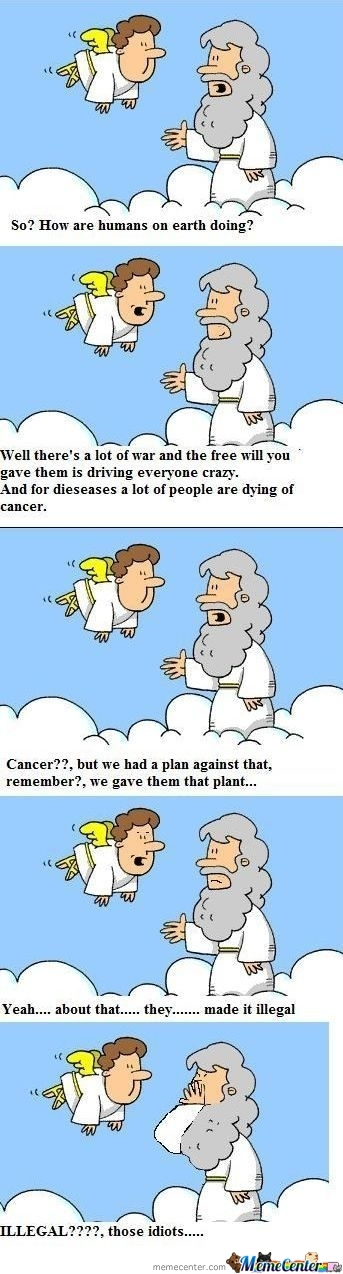 Meanwhile In Heaven..