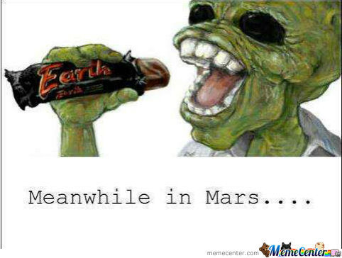 Meanwhile In Mars...