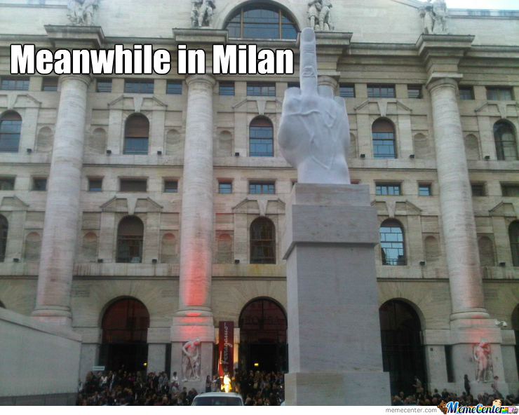 Meanwhile In Milan
