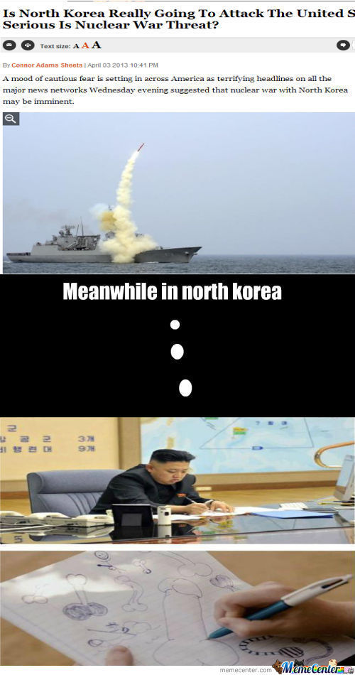 Meanwhile In North Korea